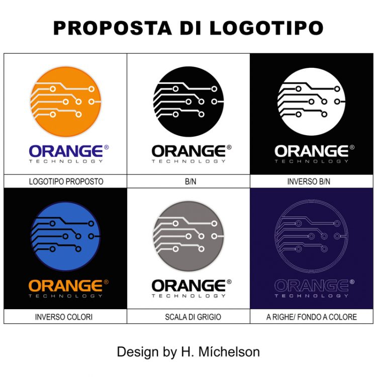 PROPOSTA LOGOTIPO ORANGE TECHNOLOGY